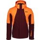 Pánská lyžařská bunda NORDBLANC NBWJM6905 ZAPRÁŠENÁ VÍNOVÁ