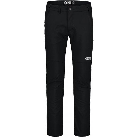 Pánské softshellové kalhoty NORDBLANC STABILIZE NBFPM 7369 ČERNÁ