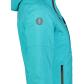 Dámská lyžařská bunda NORDBLANC NBWJL6922 TYRKYSOVÁ