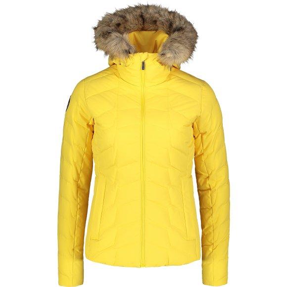 Dámská zimní bunda NORDBLANC CAGEY NBWJL7315 ŽLUTÁ