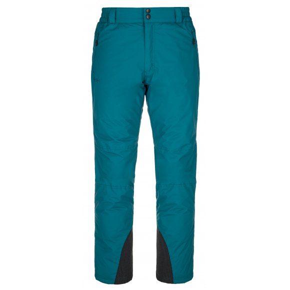 Pánské lyžařské kalhoty KILPI GABONE-M NM0040KI TYRKYSOVÁ