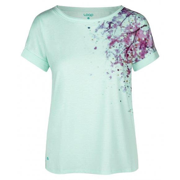 Dámské triko LOAP ALYSSA CLW20151 MODRÁ