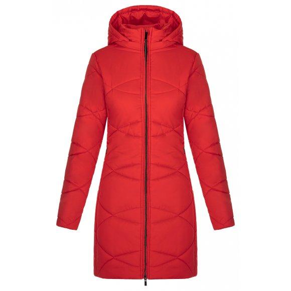 Dámský zimní kabát LOAP TALISA CLW20106 ČERVENÁ