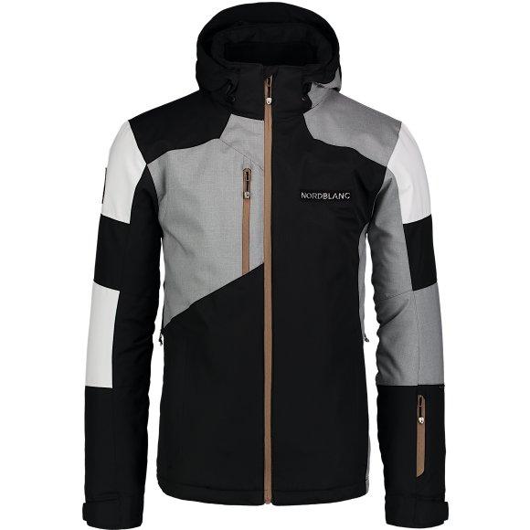 Pánská lyžařská bunda NORDBLANC NBWJM6900 CRYSTAL ČERNÁ