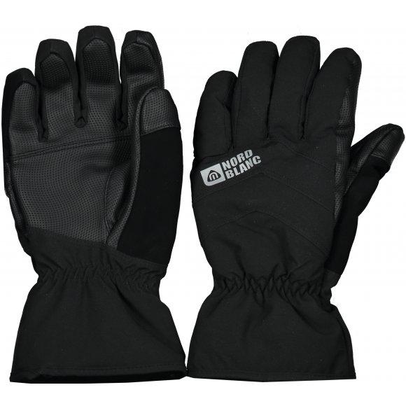 Lyžařské rukavice NORDBLANC NBWG5977 CRYSTAL ČERNÁ