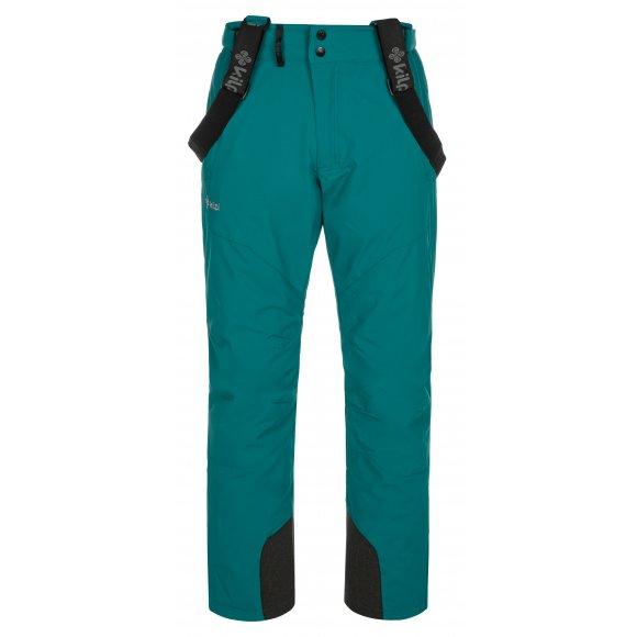 Pánské lyžařské kalhoty KILPI MIMAS-M NM0029KI TYRKYSOVÁ