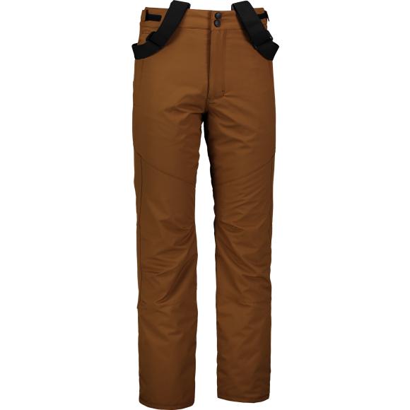 Pánské lyžařské kalhoty NORDBLANC NBWP6955 PUŠTÍKOVA HNĚDÁ