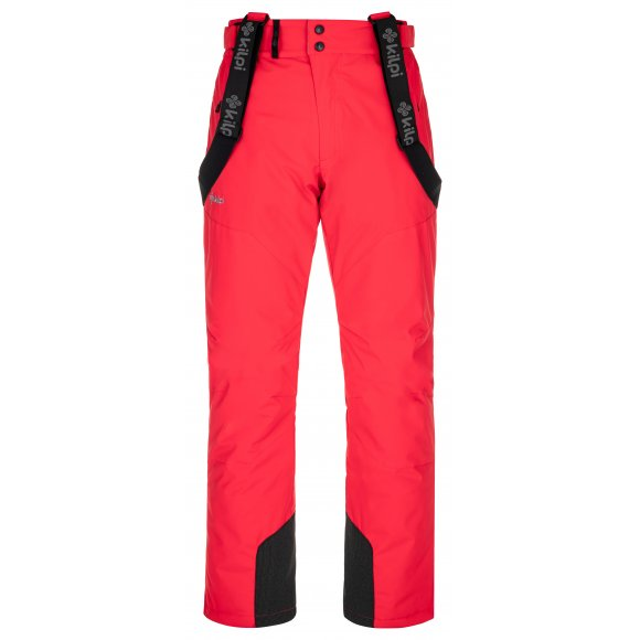 Pánské lyžařské kalhoty KILPI MIMAS-M NM0029KI ČERVENÁ