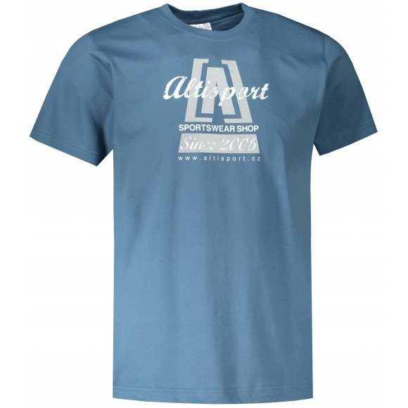 Pánské triko ALTISPORT ALM047129 DENIM