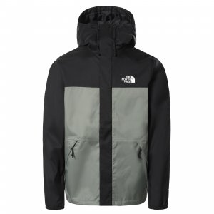 Pánská bunda THE NORTH FACE M LS SHELL AGAVE GREEN