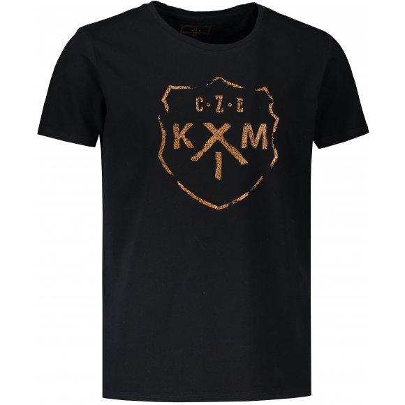 Pánské triko KIXMI LAWREL ČERNÁ