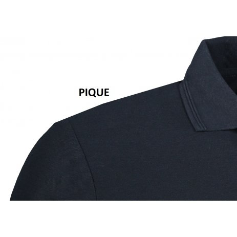 Pánské triko s límečkem ALTISPORT ALM013203 NÁMOŘNÍ MODRÁ