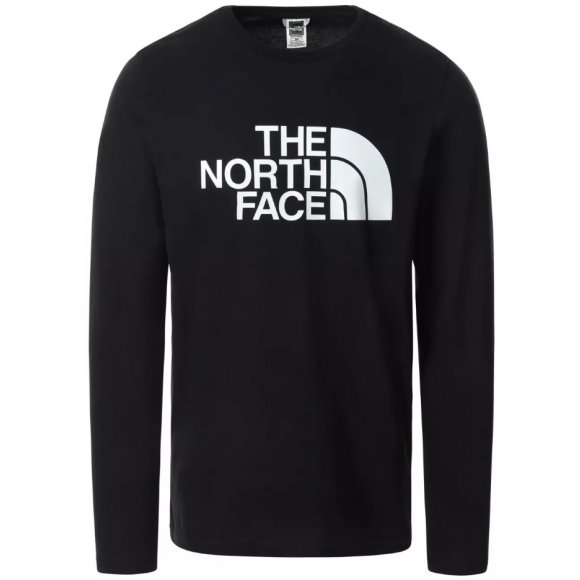 Pánské triko THE NORTH FACE M L/S HD TEE TNF BLACK