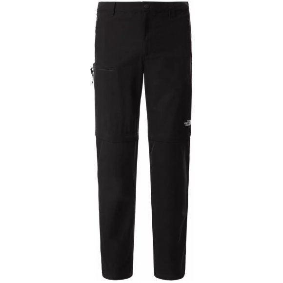 Pánské kalhoty/kraťasy THE NORTH FACE M RESOLVE CONVERTIBLE PANT TNF BLACK