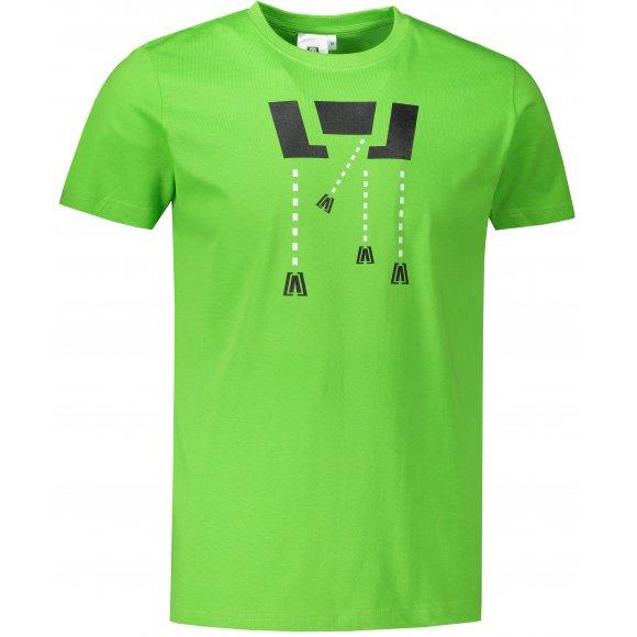 Pánské triko ALTISPORT ALM048129 APPLE GREEN