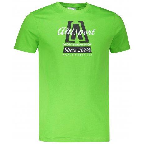 Pánské triko ALTISPORT ALM047129 APPLE GREEN