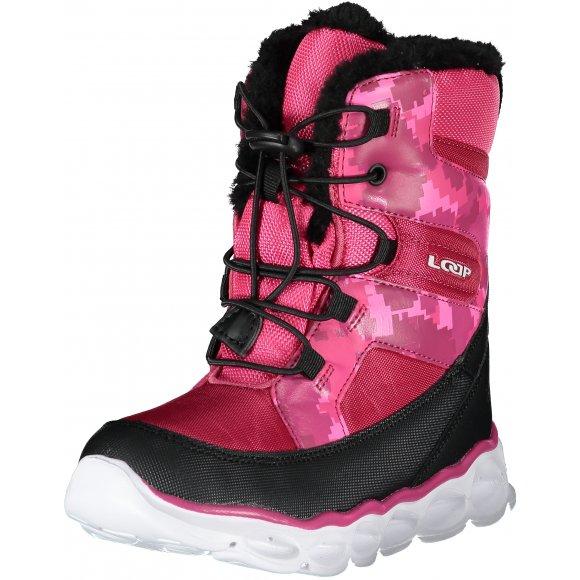 Dětské zimní boty LOAP ENIMA RŮŽOVÁ