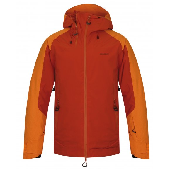 Pánská zimní bunda HUSKY GAMBOLA M ORANŽOVOHNĚDÁ