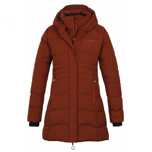 Dámský zimní kabát HUSKY NORMY L HNĚDÁ