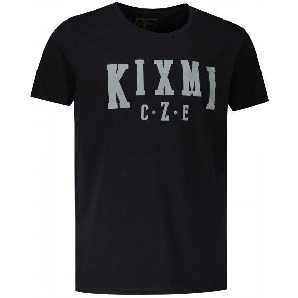 Pánské triko KIXMI LINAS ČERNÁ