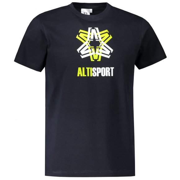 Pánské triko ALTISPORT ALM046129 NÁMOŘNÍ MODRÁ