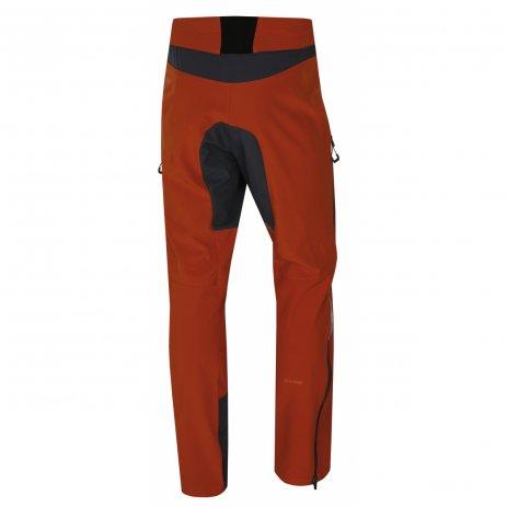 Pánské softshellové kalhoty HUSKY KESON M ORANŽOVOHNĚDÁ