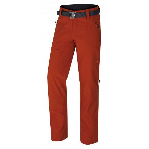 Pánské softshellové kalhoty HUSKY KRESI M ORANŽOVOHNĚDÁ