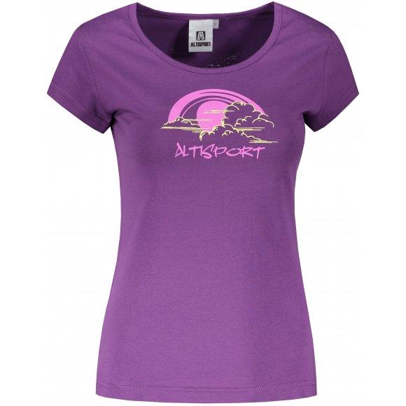 Dámské triko ALTISPORT ALW044122 FIALOVÁ