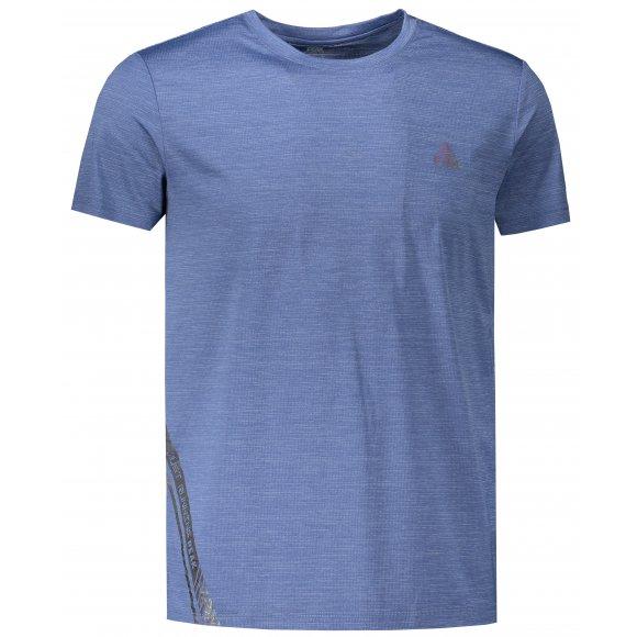 Pánské funkční triko PEAK ROUND NECK T SHIRT FW603227 URBAN BLUE