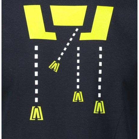Pánské triko ALTISPORT ALM048129 NÁMOŘNÍ MODRÁ