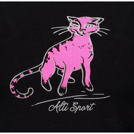 Dámské triko ALTISPORT ALW052122 ČERNORŮŽOVÁ