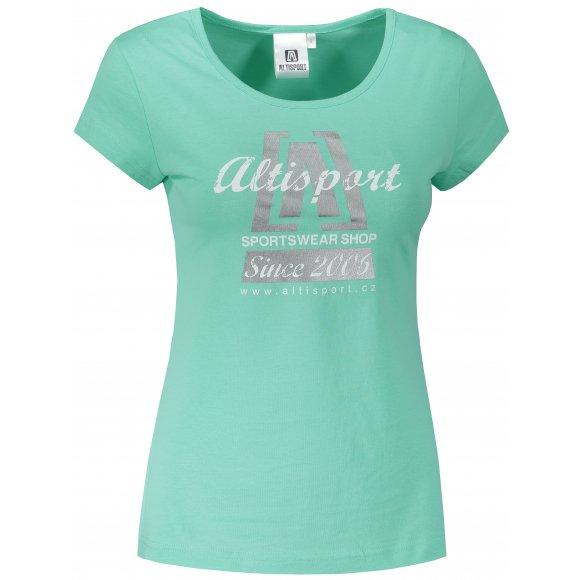 Dámské triko ALTISPORT ALW047122 MÁTOVÁ