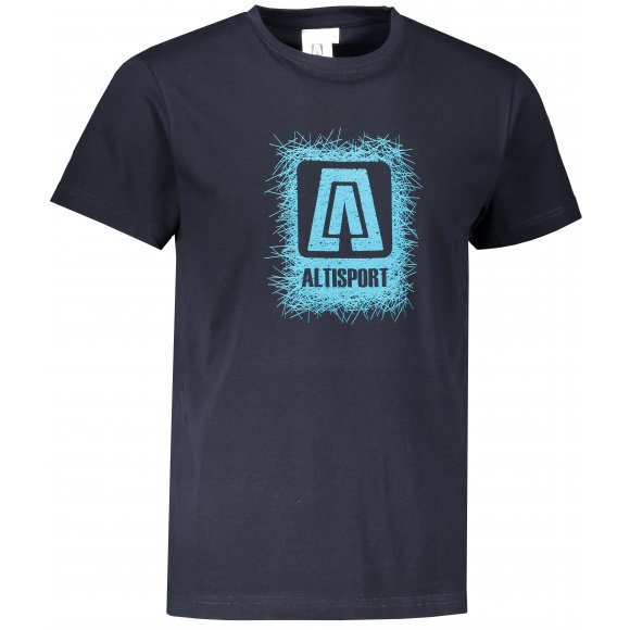 Pánské triko ALTISPORT ALM064129 NÁMOŘNÍ MODRÁ