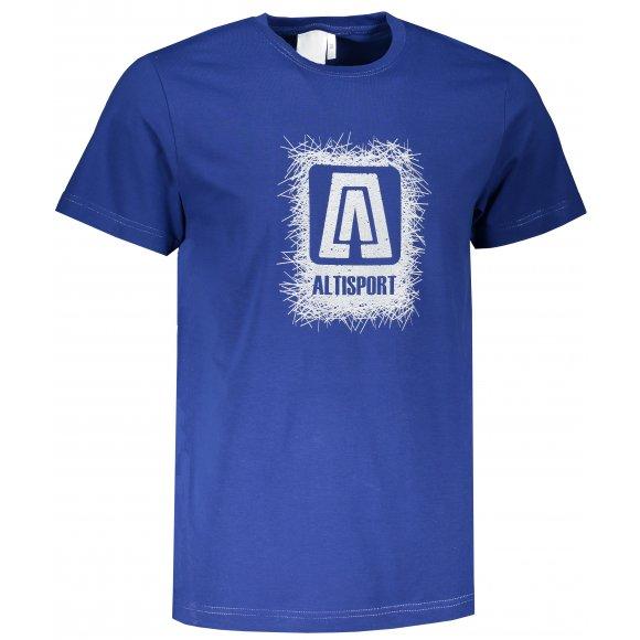 Pánské triko ALTISPORT ALM064129 KRÁLOVSKÁ MODRÁ