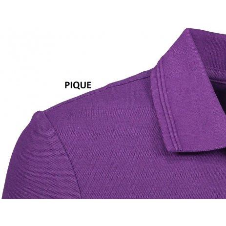 Pánské triko s límečkem ALTISPORT ALM065203 FIALOVÁ