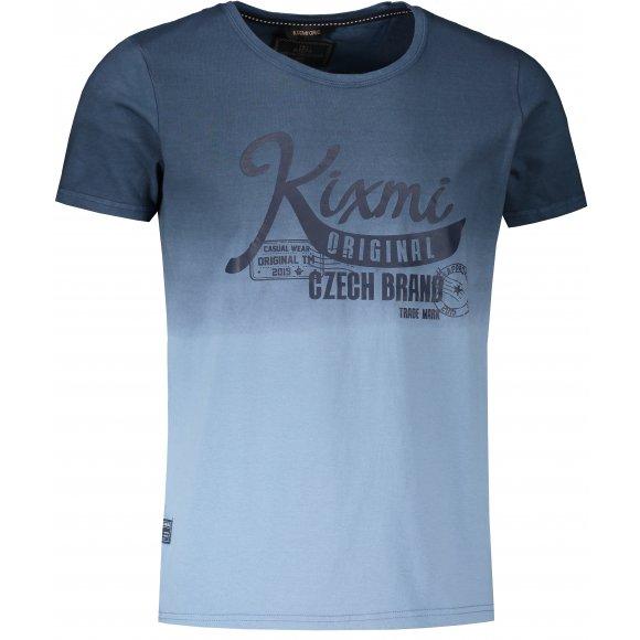Pánské triko KIXMI LAUREL TMAVĚ MODRÁ