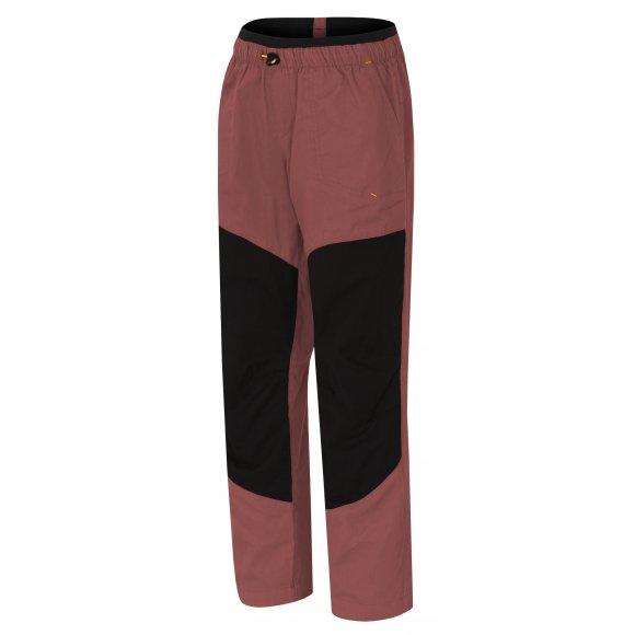Dětské kalhoty HANNAH GUINES JR MARSALA/ANTHRACITE