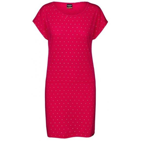 Dámské šaty SAM 73 SABINE WZ 782 TMAVĚ RŮŽOVÁ
