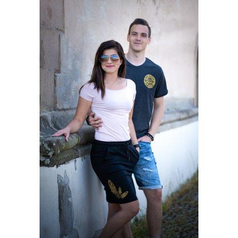 Pánské triko ALTISPORT SOSIM MTST651 ČERNÁ
