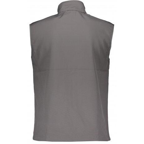 Pánská softshellová vesta ALTISPORT ALM006517 OCELOVĚ ŠEDÁ