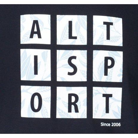 Pánské triko ALTISPORT ALM063129 NÁMOŘNÍ MODRÁ