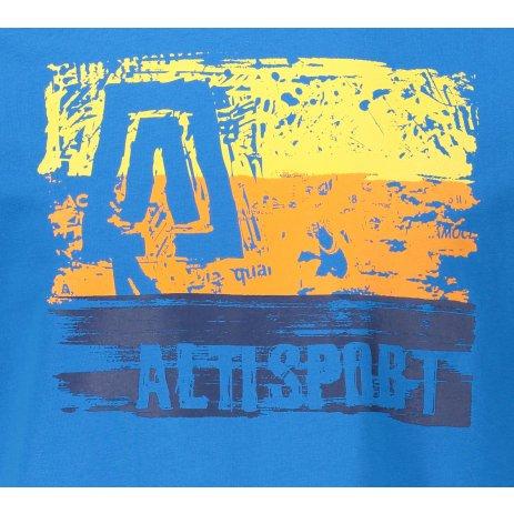 Pánské triko ALTISPORT SLAMET MTST648 MODRÁ