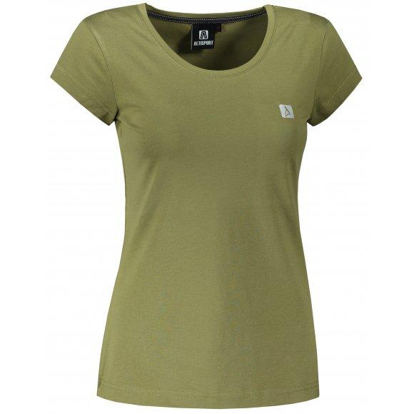 Dámské premium triko ALTISPORT ALW065154 AVOCADO GREEN