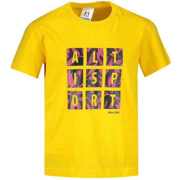 Dětské triko ALTISPORT ALK063138 ŽLUTÁ