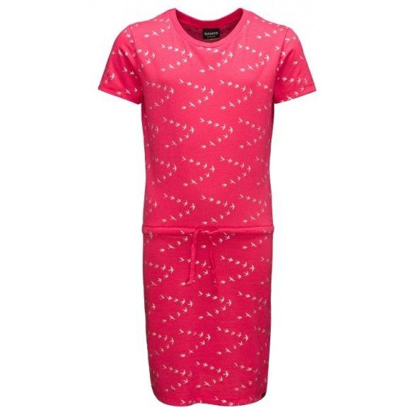 Dívčí šaty SAM 73 HOLLY GZ 528 TMAVĚ RŮŽOVÁ