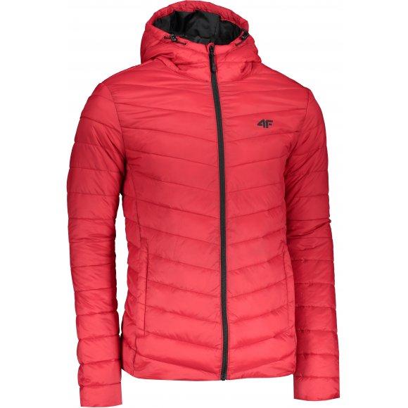 Pánská péřová bunda 4F H4L21-KUMP003 RED