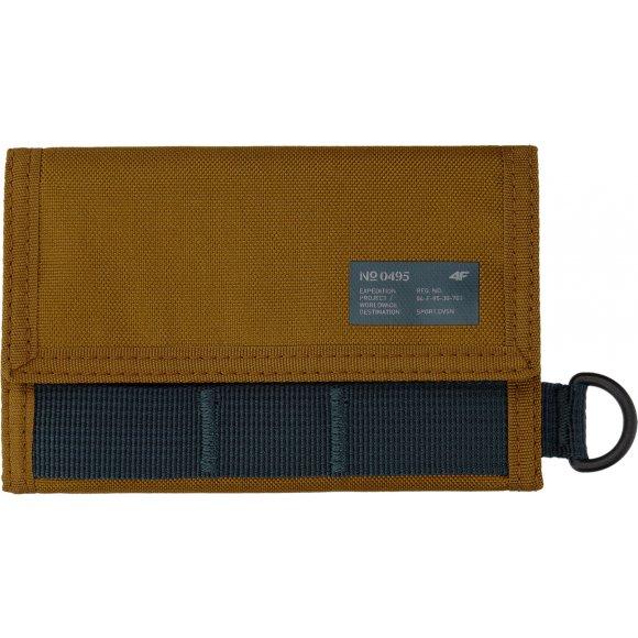 Peněženka 4F H4L21-PRT001 LIGHT BROWN