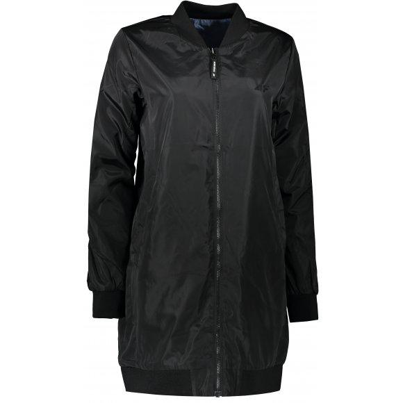 Dámský oboustranný kabát 4F H4L21-KUDC003 BLACK