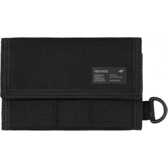 Peněženka 4F H4L21-PRT001 DEEP BLACK
