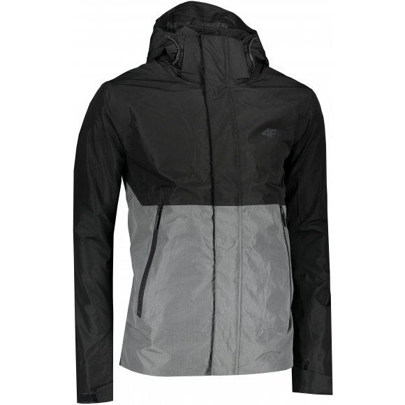 Pánská bunda 4F H4L21-KUM003 DEEP BLACK